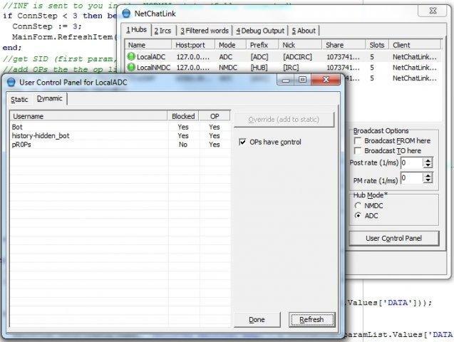 NetChatLink screenshot