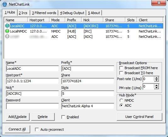 NetChatLink full screenshot