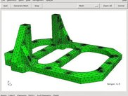 Netgen mesh generated from STEP geometry import