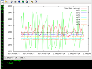 trailing acquisitions with GNUPlot