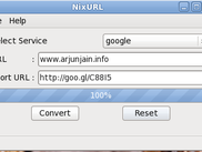 NixURL working