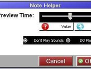 Note Helper's Settings window.