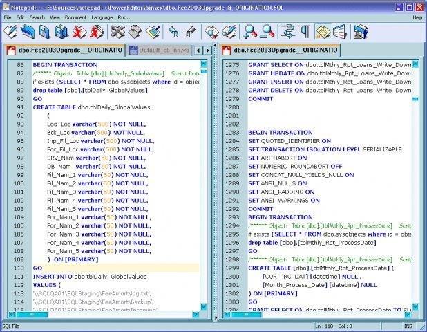 Notepad++ 6.4.5 Free Download Screenshots