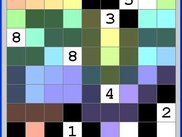 solving; colors represent search depth