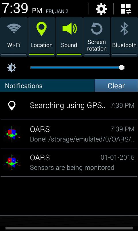 oars android imu gps data logger. Black Bedroom Furniture Sets. Home Design Ideas
