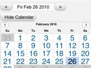 Schedule on an iPhone