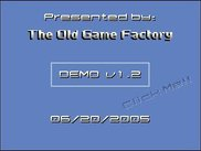 Intro & title screen. Uses no CPU (gameloop not started).