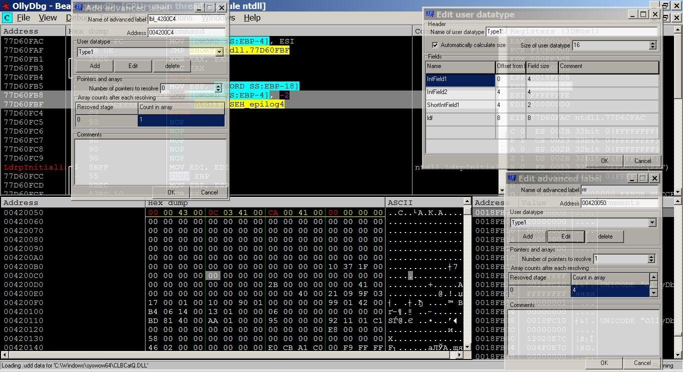 Awesome 32-bit assembler level analyzing debugger tool for Window PC