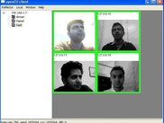 Me, Arman, Hamid and Hadi on openCU