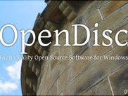 OpenDisc 07.10 splash screen