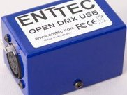 Open Dmx widget from Enttec