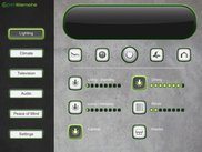 Tablet Design for Lighting Control with OpenRemote Look and Feel