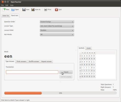 OpenTeacher screenshot