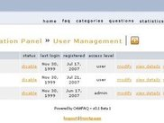 Admin Panel - User Management