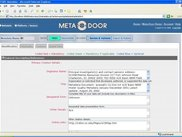 Meta-Door metadata web application