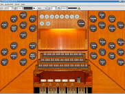 GrandOrgue using Burea Church with GUI Console Addon