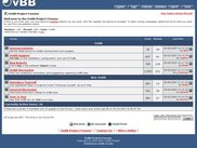 OvBB Project Forums index (running V0.16a)