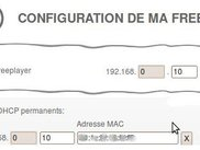 Configuration du freeplayer