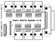 Pachi Battle System Main Board PCB v1.0