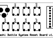 Pachi Battle System Reset Board PCB v1.0