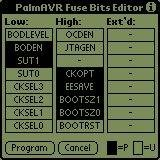 New fuses editor