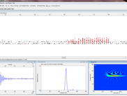 Ideally a porpoise click looks a Gaussian shaped, relatively long 120-140kHz pulse