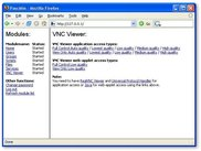 The VNC Viewer script linking to remote desktop management