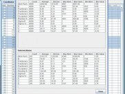 Calculate Statistics Window