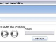 Adding an audio annotationto a PDF document