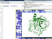 3D viewing of protein structures using PyMol in PepT-IDE.