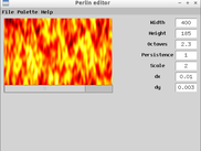 Flame effect with Perlin noise