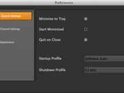 Version 1.3.0 Preferences