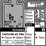Screen Layout dialog