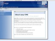eaasy-CMS screenshot