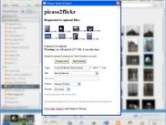 Exporting images to flickr from Picasa application
