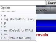 CWI Search bar - Typing a search & specifying the CWI view