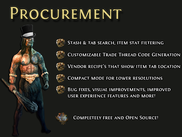 Procurement Features