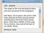 Prayer Clock on Ubuntu
