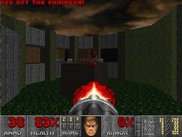 "Doom 2 MAP11 ""Circle of Death"" - software mode."