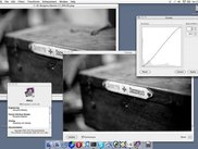 "v1.1.0 on Macintosh, showing the ""Curves"" tool with previe"