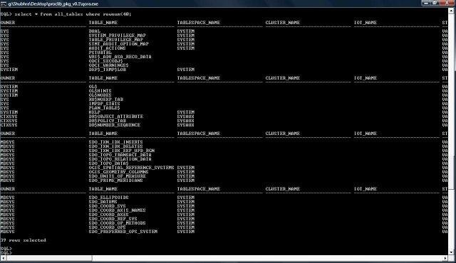 pro c  precompiler  library for oracle