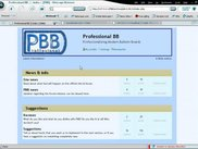 The index-page of PBB in an early state