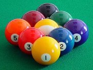 PSP Pool includes 6 game types including 9-ball and 8-ball