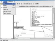 PyUt 1.3(CVS) Danish version with class diagram