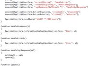 Sample client source code
