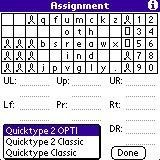 Key Assignment Dialog