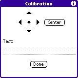 Calibration Dialog