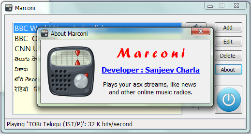 Marconi screenshot