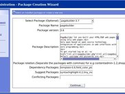 Package builder wizard, build packages in 4 simples steps