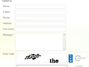 Demo ReCaptcha on Sending feedback form